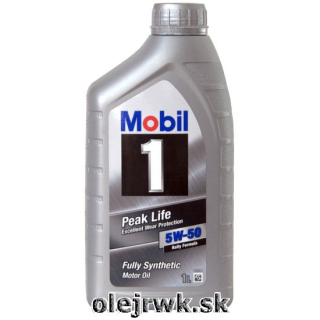 Mobil 1 Exellent Wear Protection 5W-50 1L