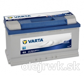 VARTA BLUE Dynamic G3 12V 95Ah