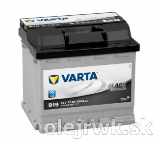 VARTA BLACK Dynamic B19 12V 45Ah