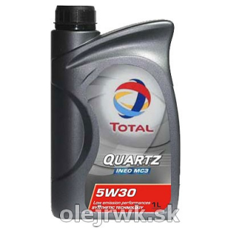 TOTAL QUARTZ INEO MC3 5W-30 1L