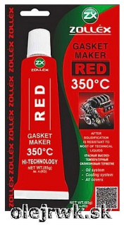 Zollex GASKET MAKER RED 350°C 85g