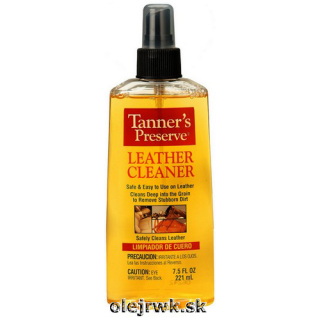 Tanner's Preserve Leather Cleaner 221ml
