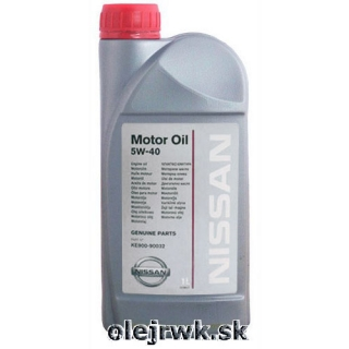 Nissan Genuine Motor Oil 5W-40 1L