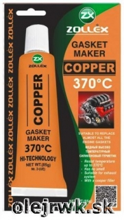Zollex GASKET MAKER COPPER 370°C 85g