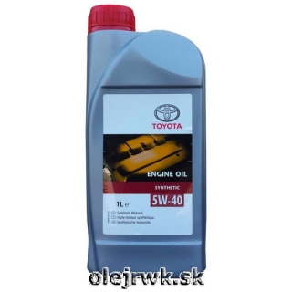 Toyota Engine Oil 5W-40 1L
