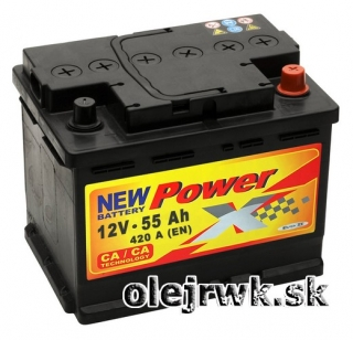 PowerX NEW 12V 55Ah