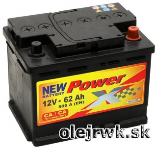 PowerX NEW 12V 62Ah