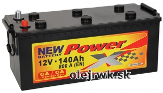 PowerX NEW 12V 140Ah