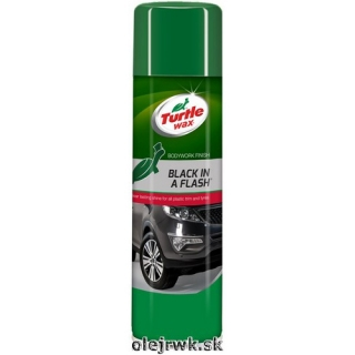 Turtle Wax Black in a Flash 500ml