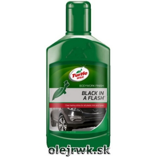 Turtle Wax Black in a Flash 300ml