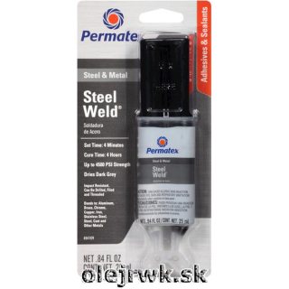 Permatex Steel Weld Epoxy 25ml