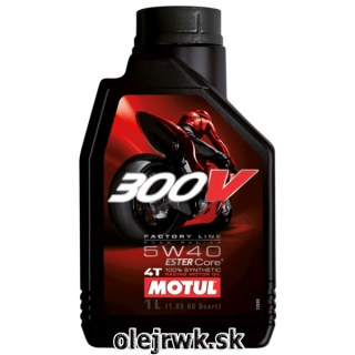 MOTUL 300V FL Road Racing 5W-40 1L