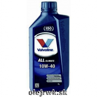 Valvoline ALL Climate 10W40 1L