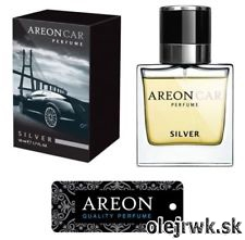 Areon Car Parfume - Silver 50ml