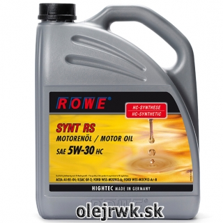 ROWE SYNT RS SAE 5W-30 HC 5L