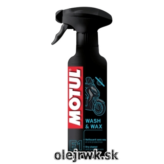 Motul Wash and Wax Spray 400ml