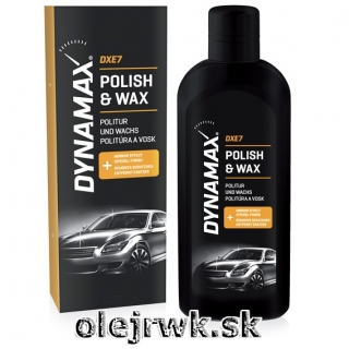 DYNAMAX POLISH & WAX 500ml
