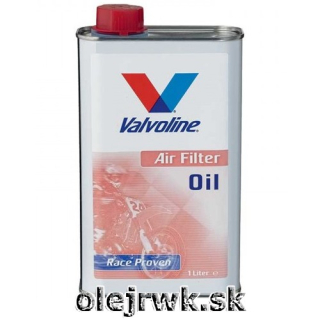 Valvoline Air Filter Oil 1L