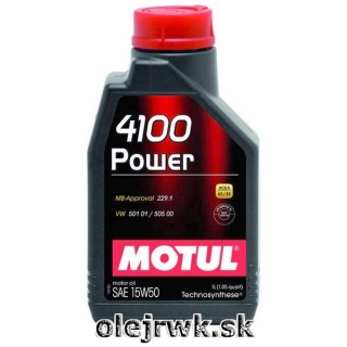 MOTUL 4100 Power 15W-50 1L