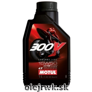 MOTUL 300V 4T FL Road Racing 15W-50 1L