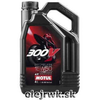 MOTUL 300V 4T FL Road Racing 15W-50 4L