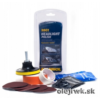 MANNOL Headlight Polisch SADA