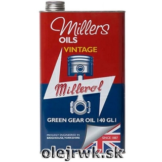 Millers Oils Green Gear Oil (VINTAGE) 140 1L
