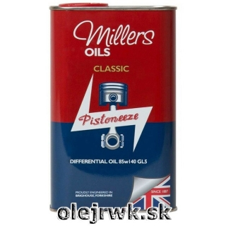 Millers Oils Classic Differential Oil (PISTONEEZE) 85W-140 1L