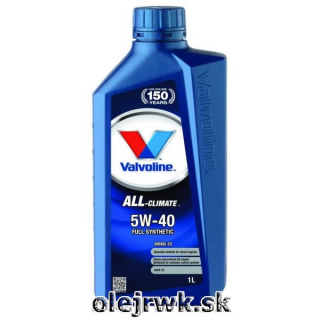 Valvoline ALL Climate Diesel C3 5W40 1L