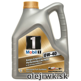 MOBIL 1 Keeps Engines FS 0W-40 4L