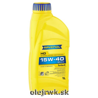 RAVENOL Turbo-C 15W-40 1L
