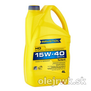 RAVENOL Turbo-C 15W-40 4L